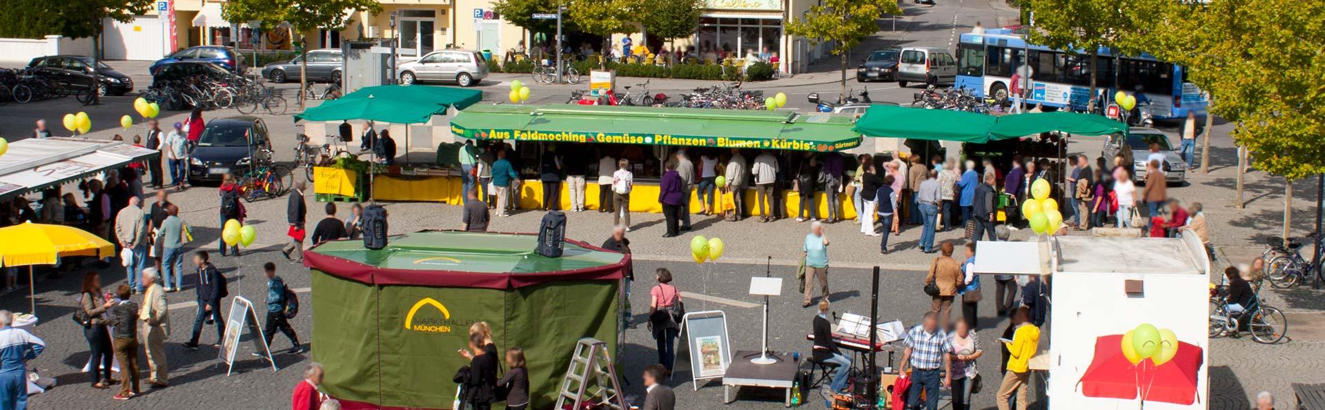 Wochenmarkt-Feldmoching